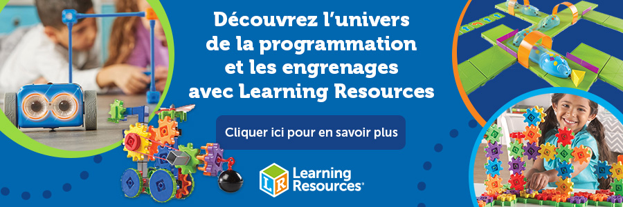 LEARNING RESOURCES ENGRENAGES ET CODING