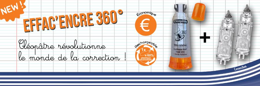 CLEOPATRE EFFAC'ENCRE 360°